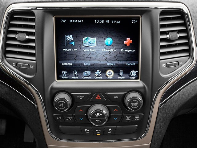 2014 jeep grand cherokee limited service manual